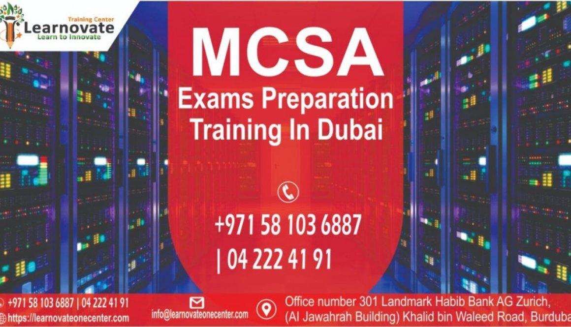 MCSA Training
