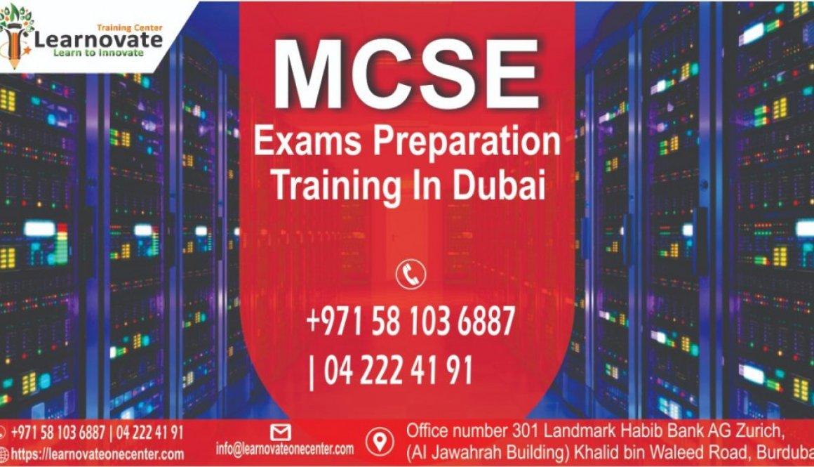 MCSE Training In Dubai