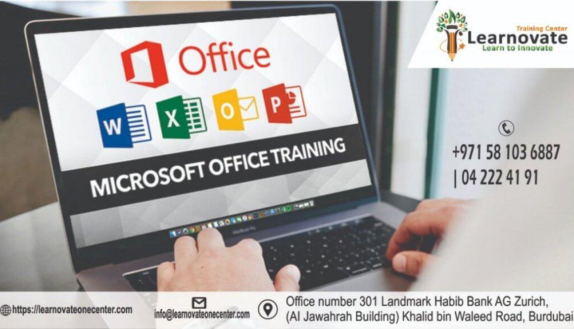 Microsoft Office Training, Microsoft Word, Microsoft Excel